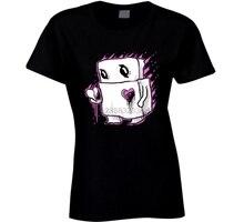Un tel triste Robot T-shirt Punk Rock Emo fille par Gus Fink Top qualité coton décontracté hommes t-shirts hommes livraison gratuite