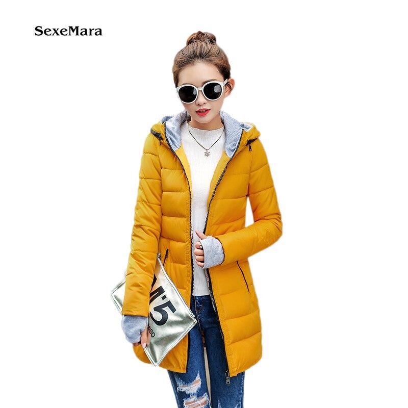 Venta al por mayor barata 2016 primavera invierno Gran oferta algodón Mujer moda caliente señoras Ropa de Trabajo chaqueta impermeable gruesa delgada de invierno