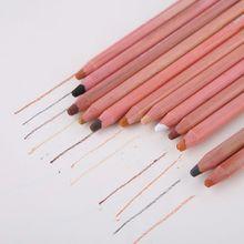 12Pcs/Set Soft Pastel Artist Pencils Crayon Charcoal 12 Colors Pencil for Sketching Wooden Drawing Supplies