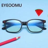 kids soft eyeglasses tr90 frame anti blue light lens glasses boys myopia farsight girls computer study optical spectacle goggles