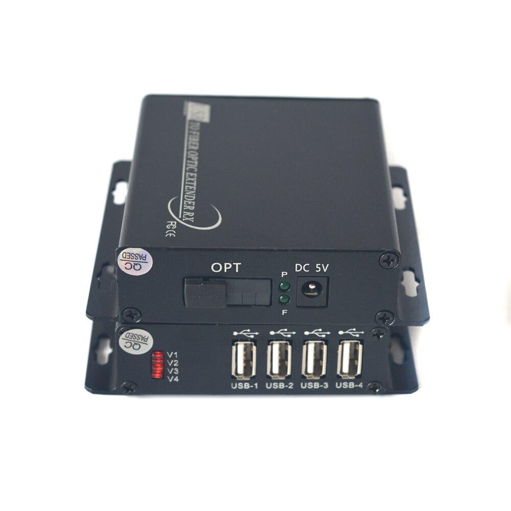 USB الألياف محول/موسع ، USB2.0 أكثر من الألياف البصرية أحادي الوضع SM 300 متر ومتعدد ملليمتر 300 متر ل U القرص ، طابعة ، الماسح الضوئي