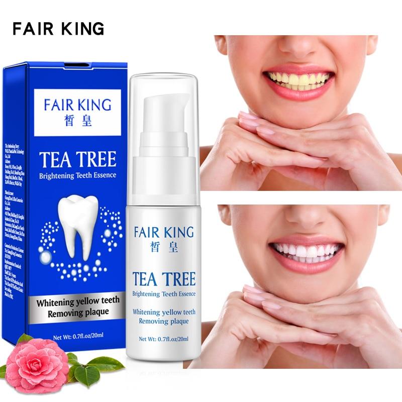 Отбеливание зубов в виде чайного дерева, быстрая гигиена полости рта, чистящая сыворотка, удаляет зубной налет, пятна, отбеливание зубов, зу...