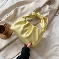 bolsos mujer cute bag crossbody bags shoulder handbags female 2020 simple elegant with tie handle small pu leather for women