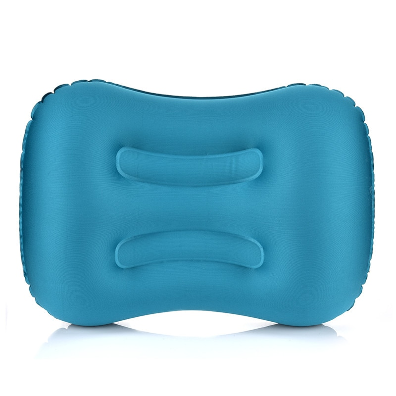 Portable Camping Outdoor Camping Pillow Compressible Inflatable Cushion Soft Neck Protective HeadRest Pillow Sleeping Supplies