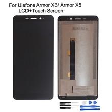 Original pour Ulefone Armor X3 LCD écran tactile assemblage pièces de réparation avec outils 5.5 pour Ulefone Armor X5 écran LCD