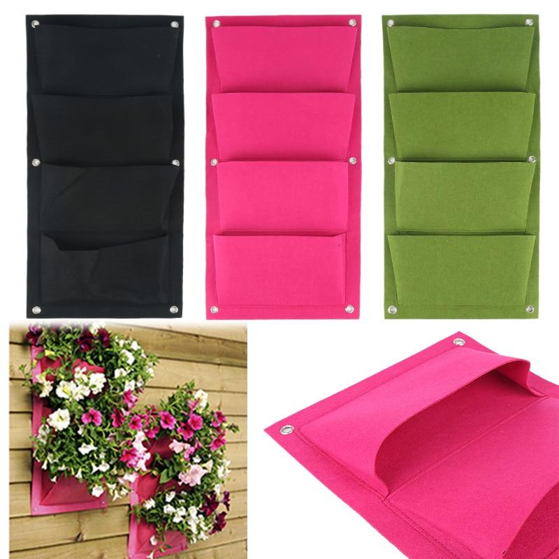 Galon nefes keçe dokusu büyüme çanta çiçek saksı çiçeği Pot kök konteyner bitki bahçe malzemeleri kreş saksı