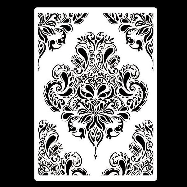 Трафареты для этикеток формата А4, Цветочная Роспись стен, альбом для штампов для альбома, декоративная Крафтовая бумага для рукоделия, траф...