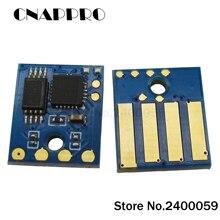 4 sztuk 20K MS310 MX310 z tonerem chip dla lexmark MS310dn MS410d MS410dn MS510dn MX410dn MX511dte MX611de MS610DE resetowania kasety