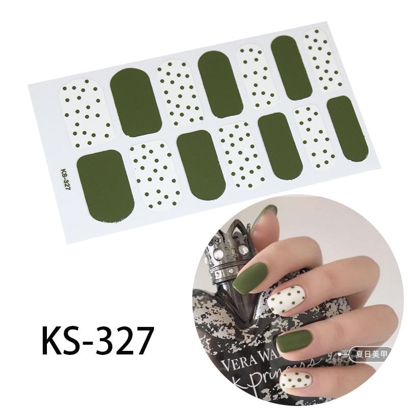 Funda completa de uña a la moda, envolturas adhesivas de esmalte, calcomanías para arte de uñas, decoraciones y utensilios de manicura ambiental para mujeres embarazadas