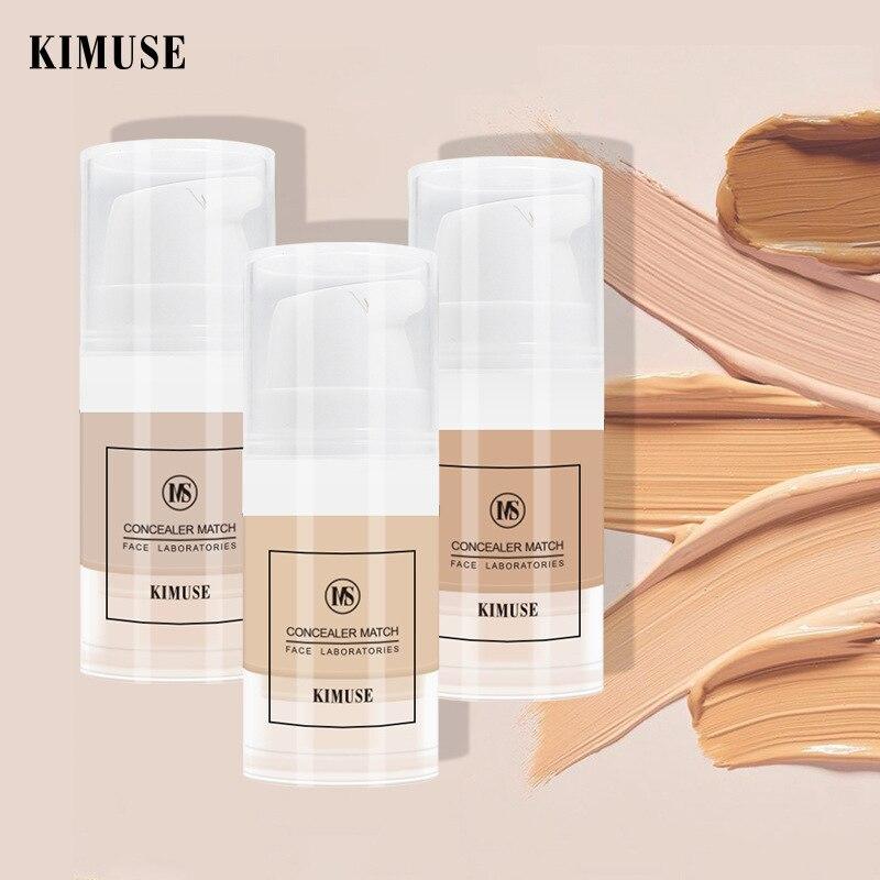 Face Foundation Cream Waterproof Long-lasting Concealer Oil Liquid Professional Makeup Matte Base Make Up Cosmetics QBMY