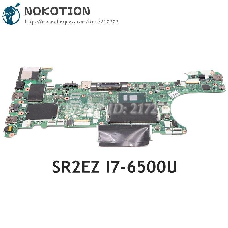 NOKOTION para Lenovo ThinkPad T470 placa base de computadora portátil 01HW531 CT470 NM-A931 Tablero Principal SR2EZ I7-6500U CPU DDR4