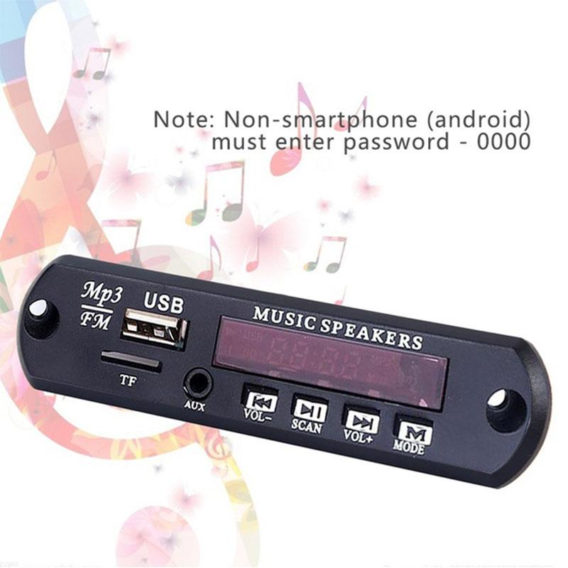 Cewaal dc5v carro veículos mp3 wma decodificador placa módulo de áudio usb fm tf rádio para carro mp3 acessórios módulo de rádio fm