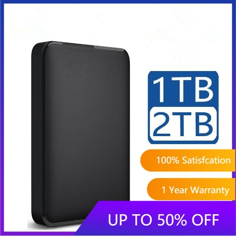 Portable External Hard Drive Disk HD 1TB 2TB High capacity SATA USB 3.0 Storage Device Original for Computer Laptop