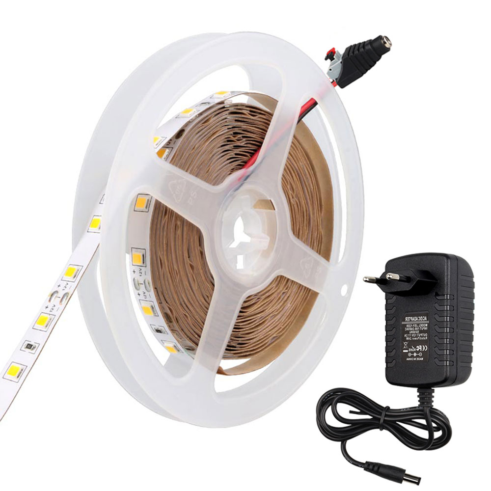 LED Strip SMD 4040 LED light DC12V 5M 300LED Non-Waterproof Tape TV Background lighting Brighter than smd 5630 2835 led strip