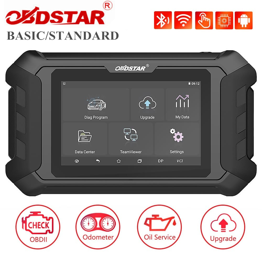 OBDSTAR ODOMaster Basic and Standard for Odometer Adjustment/Oil Reset/OBDII Functions