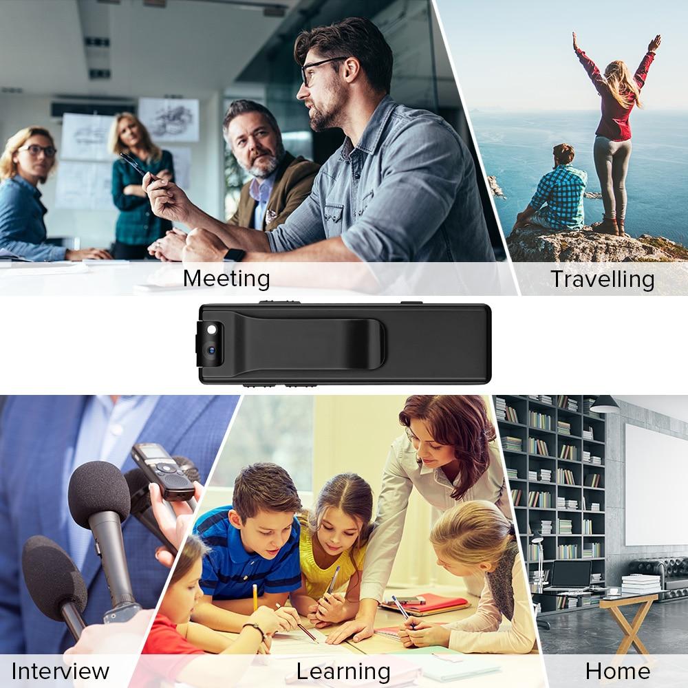 Vandlion A3 Body Camera Mini Digital HD Camera Micro Cam Magnetic Motion Snapshot Flashlight Loop Recording Camcorder Video Cam enlarge