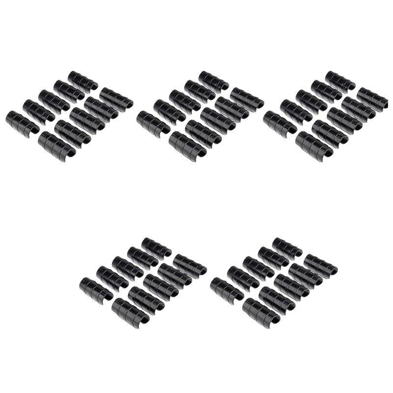 50 قطعة هيكل الصوبة الزراعية مشبك أنابيب فيلم صافي الظل الشراع كليب 32 مللي متر حديقة أدوات