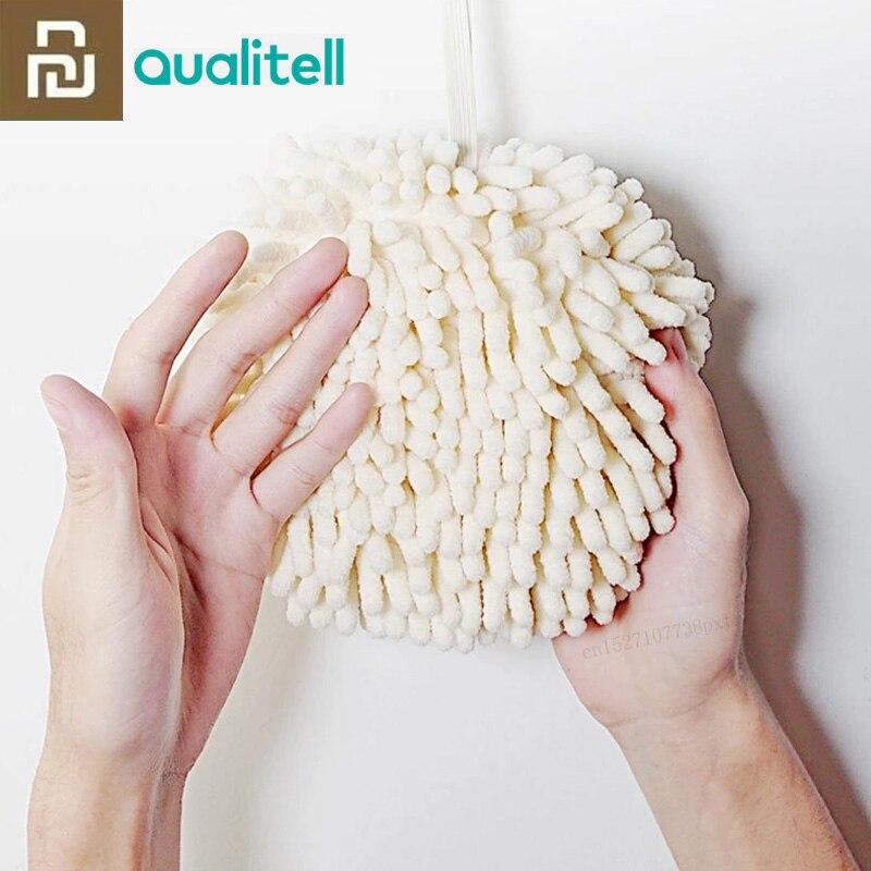 Nova youpin limpe as mãos bola de toalha super absorvente secagem rápida suave ao toque evitar o crescimento bacteriano saúde para a criança