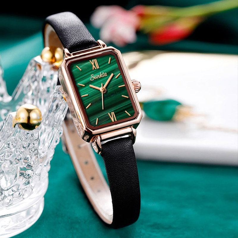 Sunkta Japan Quartz Movement High Quality Waterproof Slim Ladies Watch Dropshipping Women Stainless Steel Mesh Rose Gold Watches enlarge