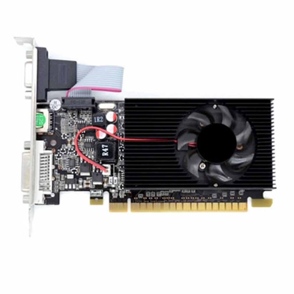 Carte graphique GT730, GDDR3 GT 730 64bit, carte graphique pour NVIDIA GeforceHDMI Dvi/VGA