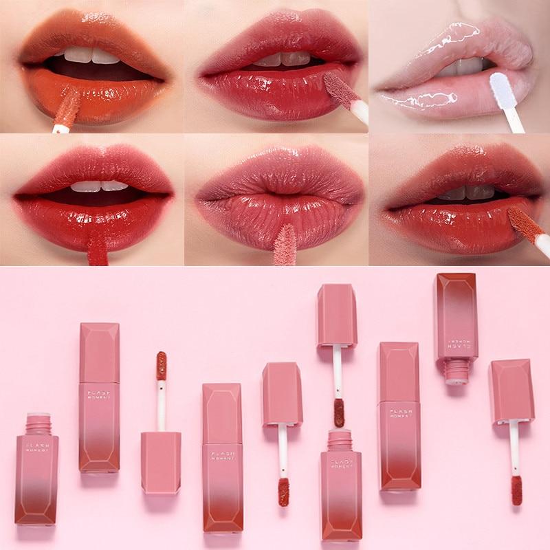 Pudaier Waterproof Nude Liquid Lip Gloss Metallic Matte Lipstick Cosmetic Sexy Batom Mate Lip Tint Makeup Lasting 24 Hours Dark