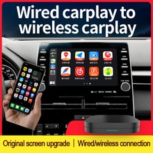 JIUYIN Wireless Apple CarPlay IOS 14 Adapter Auto Connect for vw Volkswagen Ford Audi Mercedes Peuge