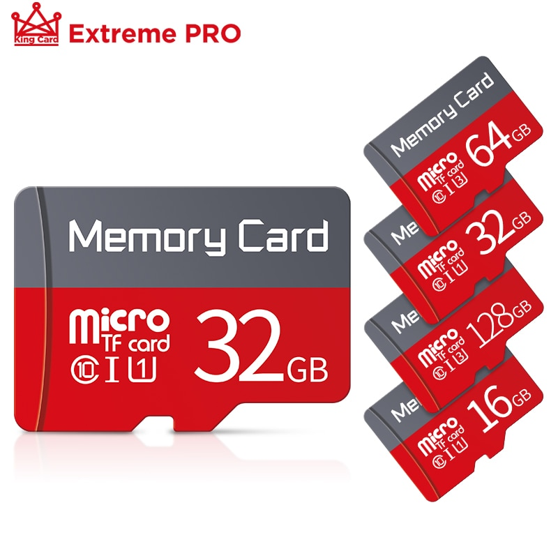 Micro SD Card 128GB 256GB Flash Drive Card 64GB 32GB Class 10 U3 Flash Memory TF card 16GB 8GB for S