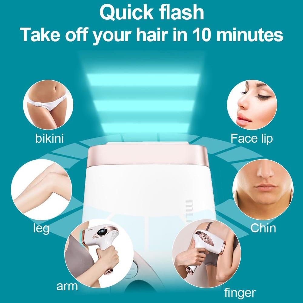MLAY T4 500000 Flash Professional Laser Epilator LCD Display Laser IPL Hair Removal Machine Photoepilator Painless Depilador enlarge