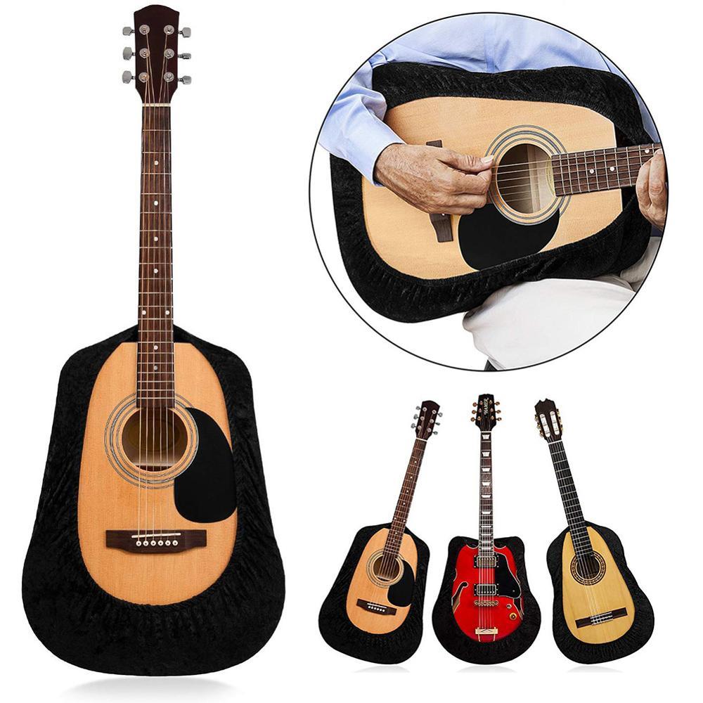 Funda para guitarra, protectora de terciopelo para guitarra, funda protectora clásica para guitarra acústica