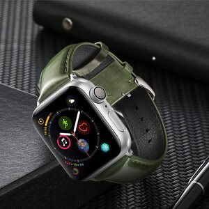 Strap For Apple Watch Fashion Glossy Leather For iWatch Series 6 SE 5 4 3 2 Watchband Replaceable Accessories   Band Bracelet
