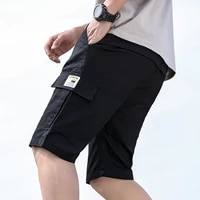 summer 2021 new casual shorts mens cropped beach pants mens youth cotton shorts fashion plus size 8xl k190