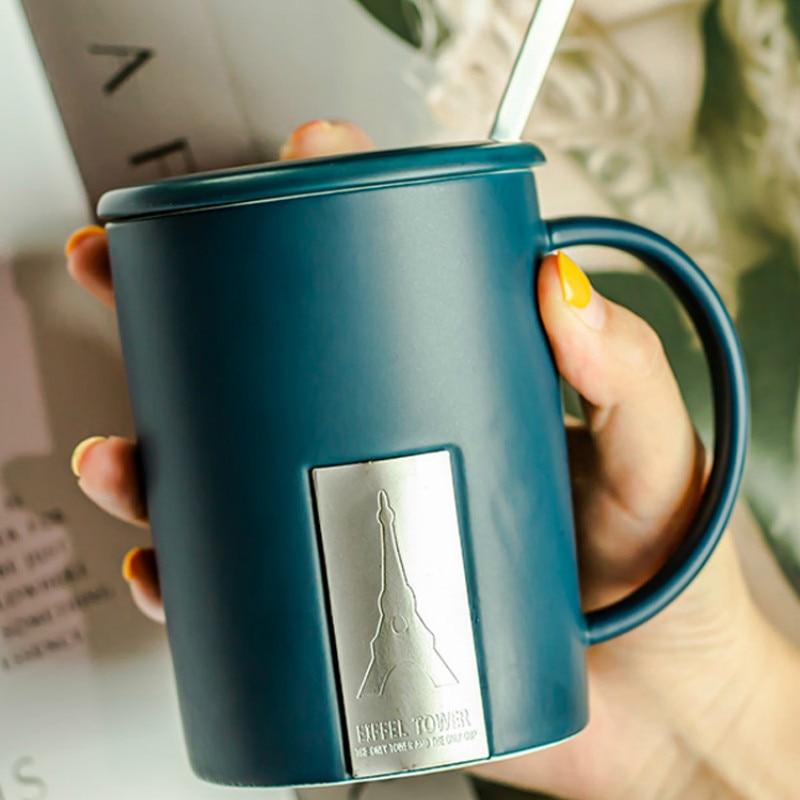 Taza de café de lujo de Arte Moderno, Taza de café creativa...