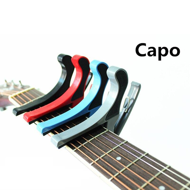 Guitarra folclórica de gama alta Capo Clip de transposición guitarra acústica eléctrica manos grandes capó ukelele CAPO