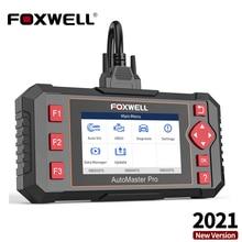 Автомобильный диагностический сканер FOXWELL NT604 Elite OBD2, Коробка передач двигателя, ABS подушка безопасности, система OBD 2, считыватель кодов, Автомобильная диагностика