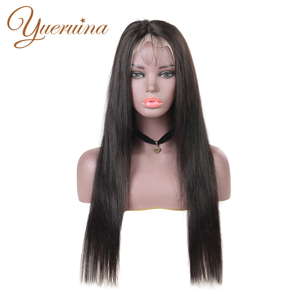 Straight Lace Front Human Hair Wigs 13x4 Brazilian Human Hair Straight Wigs For Black Women