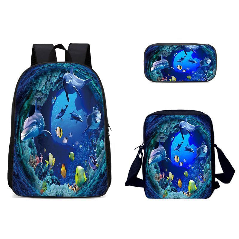 Детские школьные сумки, ортопедический рюкзак, школьный рюкзак, водонепроницаемые нейлоновые школьные сумки для девочек и мальчиков, Детск...