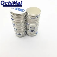 n35 strong disc ndfeb magnet 25x2 30x2 30x3 30x5 20x10 25x5 3m double sided tape belt with 3m self adhesive neodymium magnets