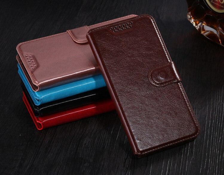 Funda de cuero tipo billetera para Doogee BL5000 BL 5000 lujosa funda de teléfono con tapa Retro Para Doogee BL5000 Fundas titular de la tarjeta