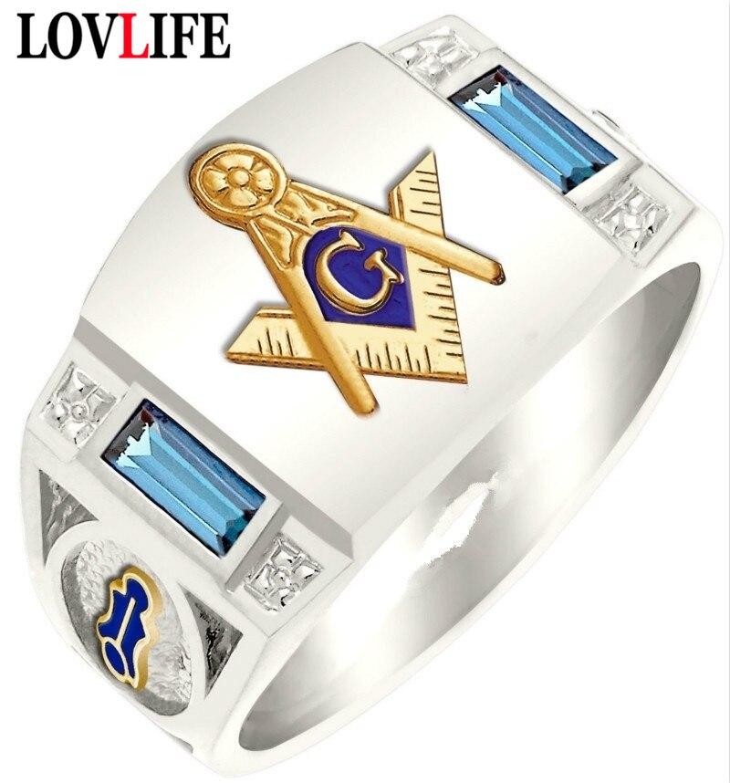 Винтаж Сплав символ G масонское тотемное кольцо для мужчин Freemason темплар Freemasonry мужские кольца золотые буквы AG мужские ювелирные изделия кольцо