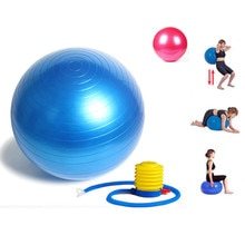 2pc pelota pilates fitbal yoga ball GYM Balls Balance Fitness Yoga Ball Fitness Pregnancy Birthing Anti Burst ball massage ball