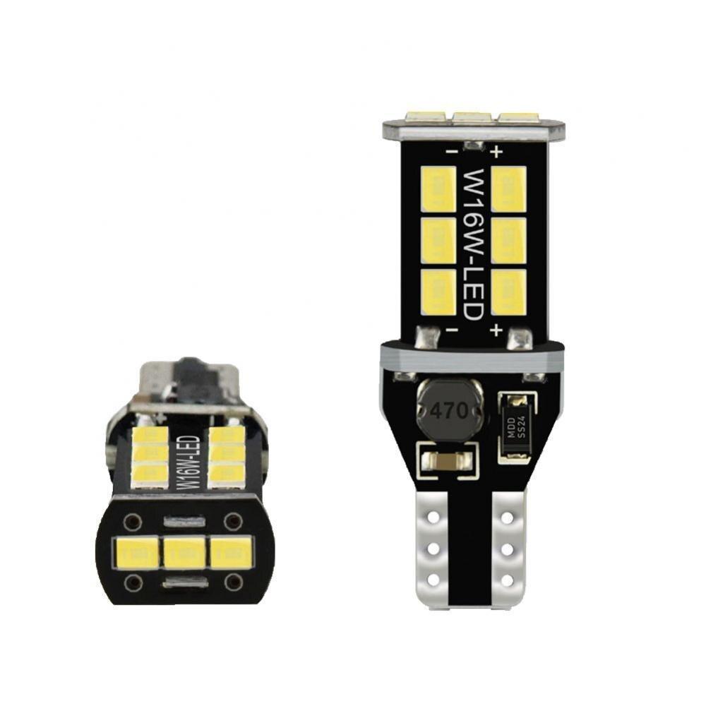10 шт. W16W LED T15 Canbus автомобиль грузовик резервные огни Задний фонарь