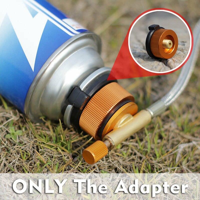 Адаптер Для Заправки Горелки для пикника, картридж горелки для кемпинга на открытом воздухе, банки для газовой горелки, адаптер, конвертер, ...