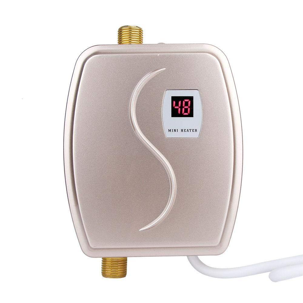 XY-FG-GA, mini aquecedor de água instantâneo elétrico tankless aquecedor de água instantâneo chuveiro de aquecimento de água elétrico 3800w