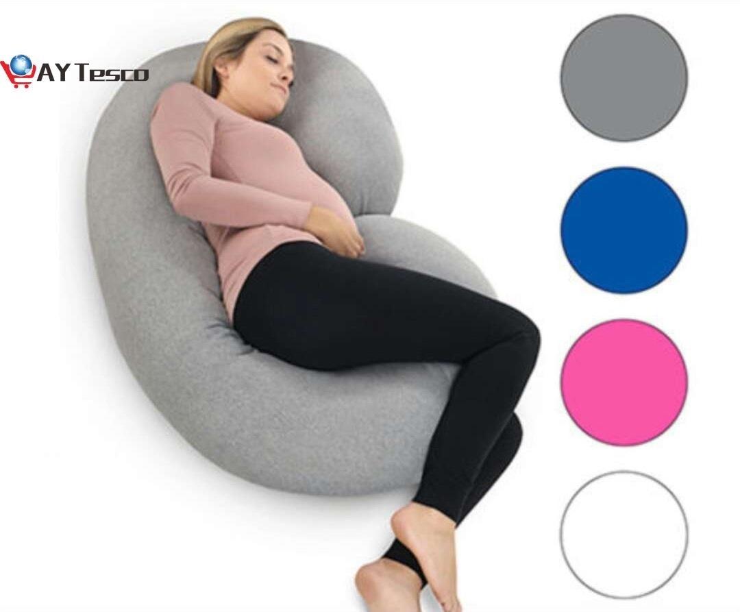 AY TescoPregnancy pillow Support Pillow For Pregnant Women Body Cotton Pillowcase U Shape Maternity Pillows Pregnancy Side