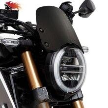 CNC аксессуары, алюминиевое лобовое стекло мотоцикла для HONDA Hornet CB650R CB 650R 2018 2019 мотоцикл ветер экран расширитель комплект