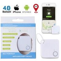 Новинка смарт-ключ Мини Bluetooth GPS-трекер устройство автомобильный двигатель сигнализация плитка кошелек ключей тревога локатор в реальном в...