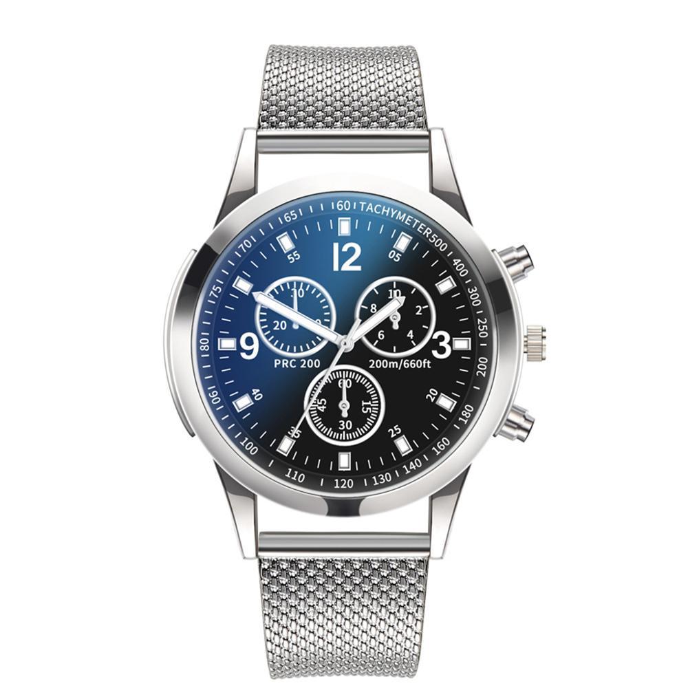 2019 New Fashion Luxury Top Brand Men Watches Quartz Watch Stainless Steel Dial Casual Bracelet Watch Clock Relogio Masculino