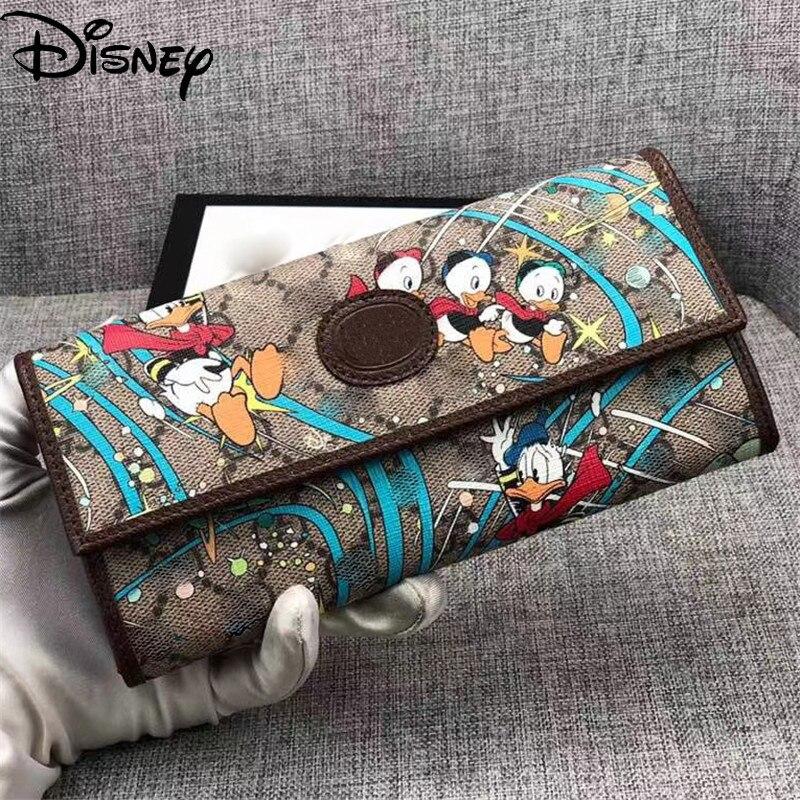 Disney Wallet Lady Cartoon Donald Duck Lady Wallet Messenger Bag Lady Wallet Card Case