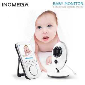 INQMEGA Wireless LCD Audio Video Baby Monitor Radio Nanny Music Intercom IR  Portable Baby Camera Baby Walkie Talkie Babysitter