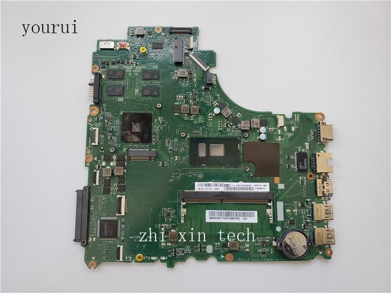Yourui DA0LV6MB6F0 اللوحة الرئيسية لينوفو V310-15IKB اللوحة الرئيسية V310-14ISK مع اختبار وحدة المعالجة المركزية i5-7200u موافق